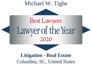 Mike Tighe Best Lawyers Lawyer of Year 2020