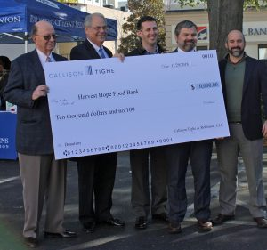Callison Tighe law firm donation